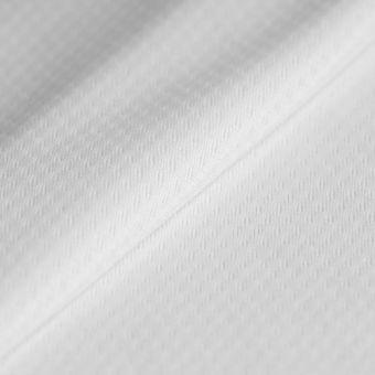 Tissu polyester frais respirant sportswear blanc