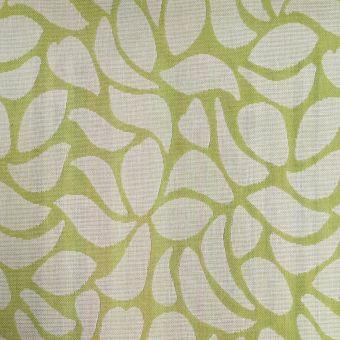 Tissu jacquard extérieur Berry vert