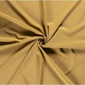 Tissu softshell chiné jaune moutarde