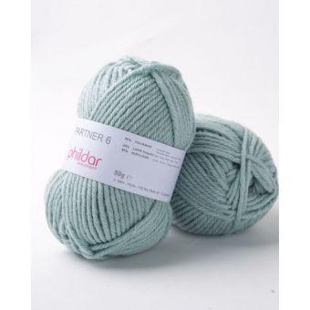 Fil à tricoter Phildar partner amande