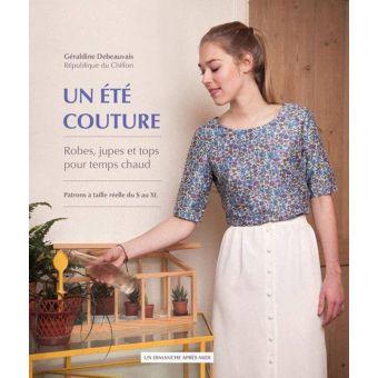 Livre Un été couture robes jupes et tops patrons S au XL