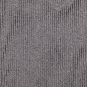 Bord côte tubulaire épais gris clair