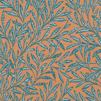 Tissu jacquard Olivier orange