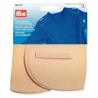 Épaulettes auto-agrippantes taille S, couleur chair
