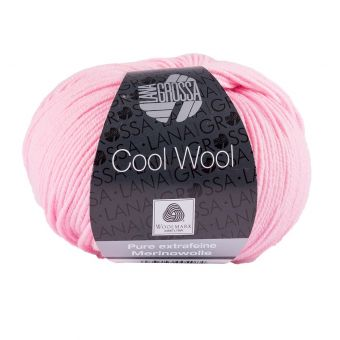 Fil à tricoter mérinos extra-fine rose