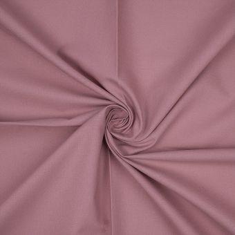 Tissu coton bio uni vieux rose
