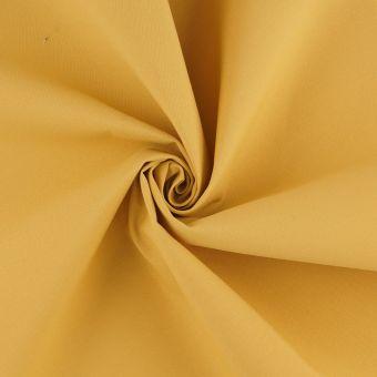 Tissu toile extérieure Hanck unie jaune grande largeur