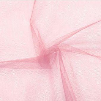 Tissu tulle souple en 300cm rose