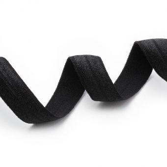 Elastique biais noir pré-plié