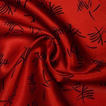 Tissu satin carnaval motifs chinois