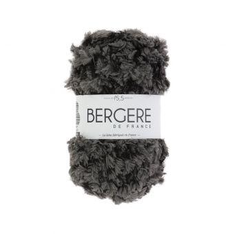 Pelote de fil à tricoter Frimousse Bergère de France anthracite