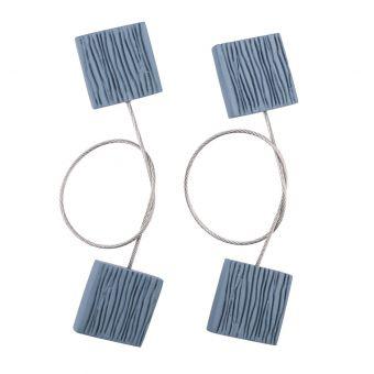 Lot de 2 magnets Picolo bleus