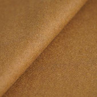 Tissu drap de laine viscose uni camel