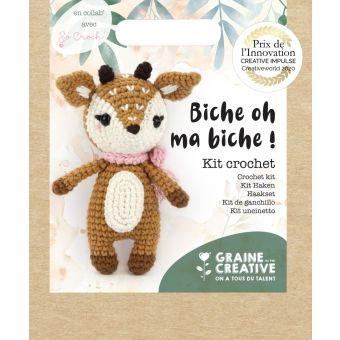 Kit crochet biche 170 mm