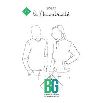 Patron Sweat homme - Les BG
