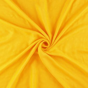 Tissu popeline bambou jaune
