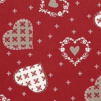 Tissu coton imprimé Glières