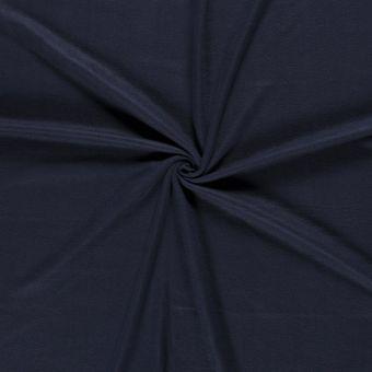 Tissu polaire unie marine