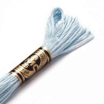 Fil mouliné à broder - Tons bleus