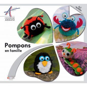 Livre Pompons en famille