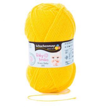 Fil à tricoter Baby Smiles Bravo 185 jaune curry