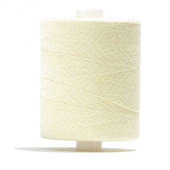Bobine de fil à batir 100 % coton Jaune