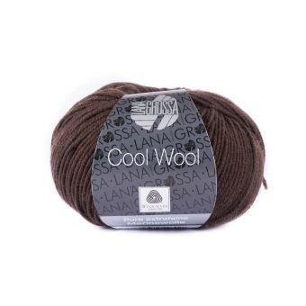 Fil à tricoter mérinos extra-fine moka-marron