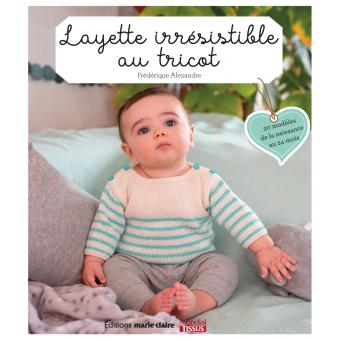 Livre Layette irresistible au tricot