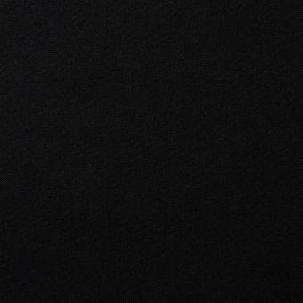 Tissu coton uni Cristina noir