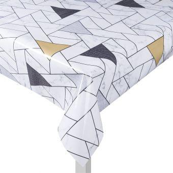 Toile cirée motifs géométriques