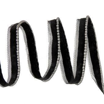 Passepoil chaîne strass 10mm