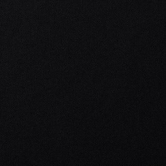 Tissu sergé de coton Serena uni noir