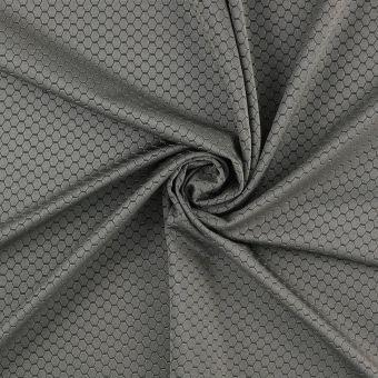 Tissu sport réfléchissant gris