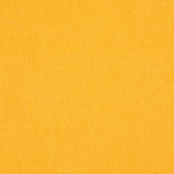 Tissu coton uni Cristina jaune bouton d'or