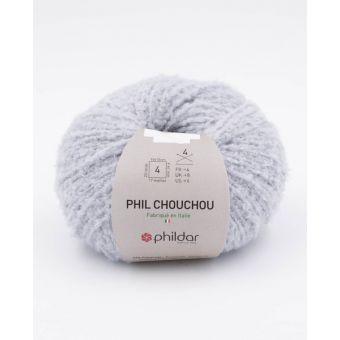 Pelote de fil à tricoter Phildar Chouchou perle