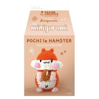 Kit mini amigurumi hamster 100 mm
