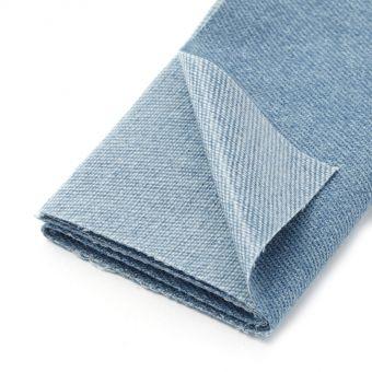 Pièce thermocollante jeans - Bleu Moyen