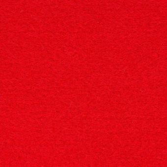 Feuille de feutrine rouge