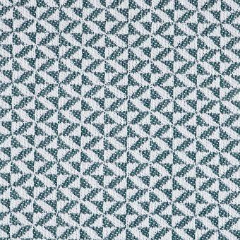Tissu jacquard déperlant formes géométriques