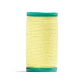 Bobine de fil cordonnet 100 % polyester Jaune