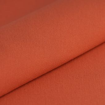 Tissu toile extérieure Hanck unie paprika