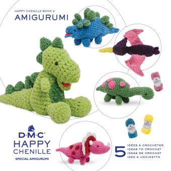 Livre Happy chenille dinosaure
