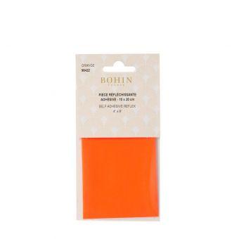 Pièce réfléchissante adhésive orange - Bohin