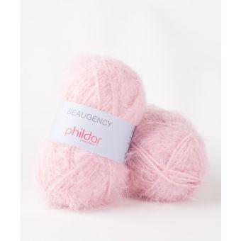 Fil à tricoter Phildar Beaugency Rose Thé