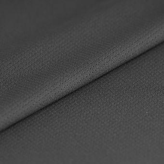 Tissu jersey sport polyester antibactérien gris