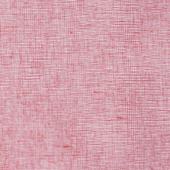 Tissu de décoration Tarlatane rouge