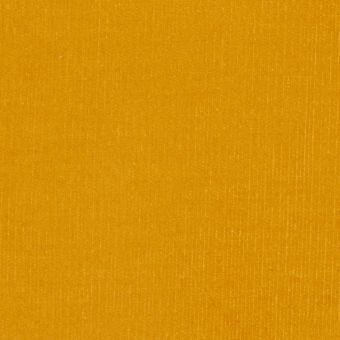 Tissu velours milleraies jaune moutarde
