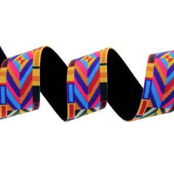 Elastique ethnique multicolore 40mm