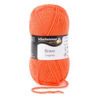 Fil à tricoter Bravo orange