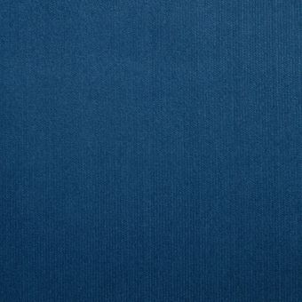 Tissu velours milleraies bleu